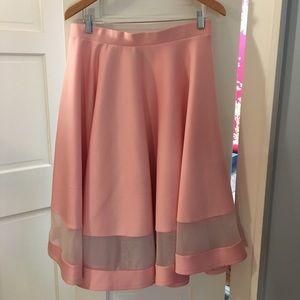 ASOS Neoprene Circle Skirt